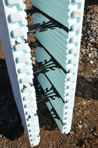 Insulated concrete forms provides green building for Foam concrete forms cost